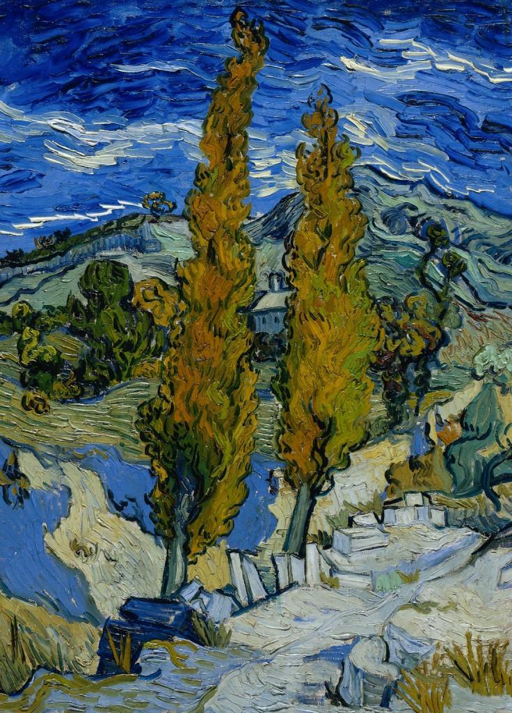 Vincent_van_Gogh_-_Peupliers_à_Saint-Rémy