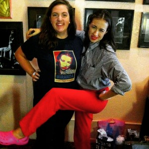 "Gina, who does a very excellent of Miranda Sings, got to meet Miranda Sings. ""Haters Back Off."""